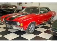 1972 Chevelle Convertible 454 / Automatic , new front
