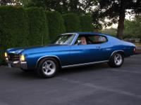 1972 chevelle was restored in 1989 with new paint;