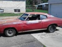1972 Chevrolet Chevelle Malibu. Has a Nicely Built 350