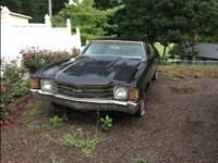 1972 Chevelle/Malibu. No title. $2,000 or best offer.