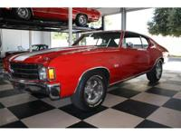 1972 Chevelle ss 350/350hp auto , Extra clean numbers