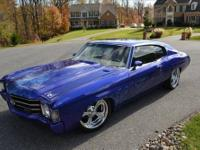 1972 Chevelle SS with Ground Up Custom Restoration.