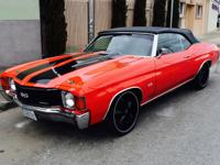 Here is an incredible 1972 Chevelle SS tribute