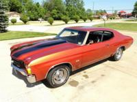 1972 Chevrolet Chevelle SS 2D HT ..Car Built 8 Years