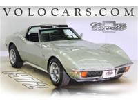 THIS 1972 CORVETTE HAS ITS NUMBERS MATCHING 350 V8