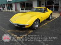 Numbers matching 1972 Corvette Coupe. 350 CU IN 200 HP