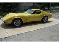 This is a 72 Corvette that has had the same owner the