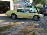 1972 CORVETTE COUPE ORIGINAL 350 MOTOR NUMBERS MATCH 4