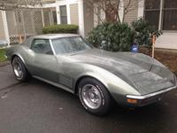 1972 Corvette in great condition. All original with