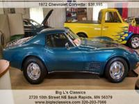 Chevrolet Corvette Unspecified Automatic 3-Speed targa