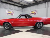 Stk#168 1972 Chevrolet El Camino SS 200 Miles on engine