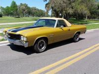 1972 Chevy El Camino SS 454, Here's a rare one! Powered