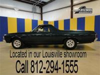 1972 Chevrolet El Camino. This Numbers Matching El