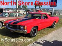 Restored 1972 El Camino, body is very straits, no signs