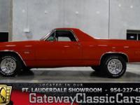 Stock #4-FTL  1972 Chevrolet El Camino SS Tribute