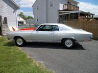 1972 Chevrolet Monte Carlo 2DR HT ..Custom Silver