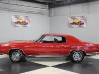 Stk#012 1972 Chevy Monte Carlo SS Rare SS Option
