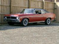 Very nice 1972 Nova with SS trim. Older restoration on