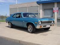 1972 Chevrolet Nova, Sold new by Yenko Chevrolet.