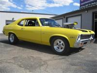 What a great car!! 1972 Chevy Nova with an aluminum