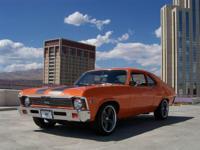 This 1972 Chevrolet Nova 2dr Coupe features a 427c.i.