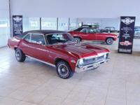 1972 Chevy Nova SS, Real K automobile numbers matching