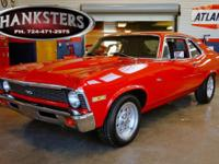 Stock # 72NOVA5033 1972 Chevrolet Nova Exterior Red