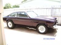 1972 Chevrolet Vega GT Pro Street ..New Black Cherry