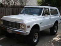1972 Chevrolet Blazer Price: 18495 Mileage: 65000 Body