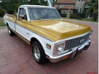 1972 Chevy C10 Cheyenne Super LWB: First offered in