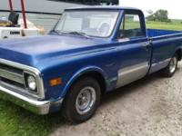 1972 Chevy C10 project truck. New exhaust, tires,