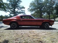 Enjoy the fall in this 1972 Chevrolet Camaro. Here's