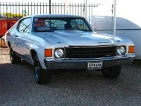 1972 Chevy Chevelle - Restored Rare Numbers Matching