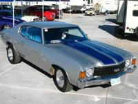 1972 Chevy Chevelle - Super Clean! 454 Big Block, Turbo