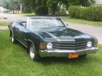1972 Chevy Chevelle for sale (NY) - $18,500. '72 Chevy
