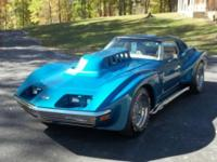 This beautiful 1972 Modified and Custom Corvette will