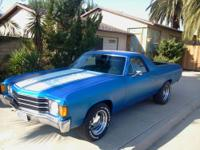 1972 El Camino V1110CKW Stock 350 engine and 350 turbo