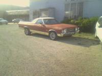 i have a 1972 chevy el camino for sale.it has a 350 2