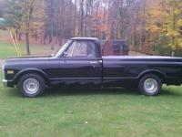 Rock solid 1972 Chevy truck real real straight and
