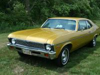 Numbers-matching, all original 1972 Chevy Nova with