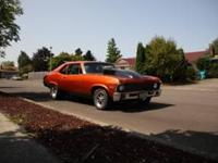 PLEASE EMAIL ME FOR LOTS OF PHOTOS 1972 Chevy Nova SS