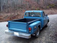 1972 Chevy pickup short wheel based truck with step