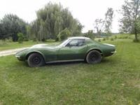 1972 CORVETTE LT1 COUPE, NUMBERS MATCH. NEW ELKHART