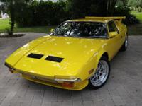 1972 De Tomaso Pantera L Custom. Very clean driver that