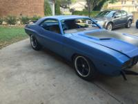 For sell 1972 Dodge Challenger. The car does run and