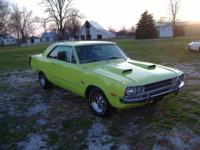 1972 Dodge Dart Swinger 360 Automatic. Energy Steering.