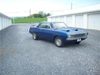 1972 Dodge Dart Swinger. The Dart has a nicely built