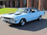 1972 Dodge Dart Swinger, in nearly pristine condition.