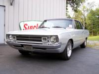 1972 Dodge Dart Swinger - Fully Restored - Silver with
