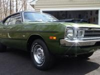 1972 Dodge Dart Demon 340 Car comes with original build